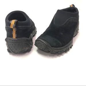 Merrell Winter Moc Black Loafers Slip On Size 8